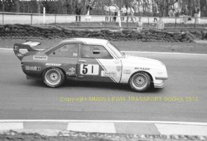 Ford Escort BDX Thundersaloon Minton Brothers Brands Hatch 1987 7x5